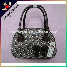 women elegant PU tote bag cheap ladies small handbags