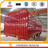 60 ton Vegetables Fruits transport semi trailer China manufacturer CCC certificated quality