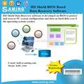 Hd de bios escudo de datos basados en software de recuperación de/pc guardia/de recuperación de datos y sistema de restauración en reiniciar