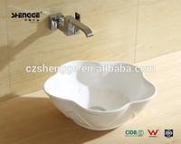 white bowl model wash basins in india