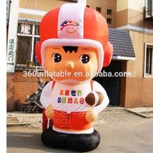Vivid 3mH inflatable company mascot boy (BMCT37)