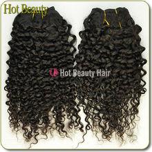Top grade Brazilian afro wave 100% human virgin hair extension kinky twist