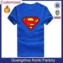 Custom design men's cotton wholesale tagless t shirts slim fit same to Sheldon