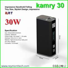 Newly developed 30 watt box mod 18650 battery Kamry 30 mod