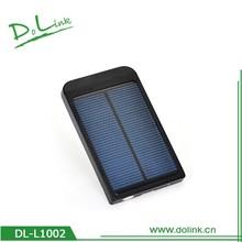 Universal 2600 mAh Portable External Solar Power Bank /Backup Battery Charger; External Battery Packs for Samsung