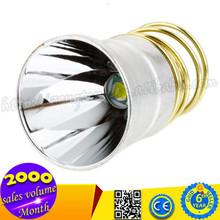 For CREE XML T6 5Mode 750lm 26.5mm Flashlight Head Aluminium Reflector