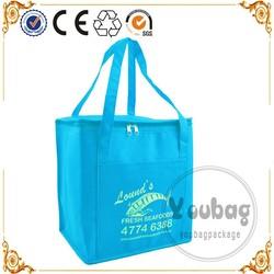 Eco friendly bag cooler,insulated cooler bag fabric,promotional cooler bag