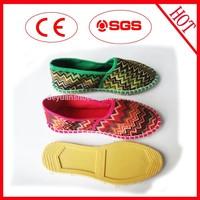 Low temperature resistant espadrille singal shoe buckle