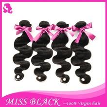 Brazilian virgin hair bundle deals 5A brazillian body wave,100 grams/bundle 100% real human hair weaves free ship
