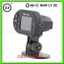 Motion detection C600 FHD 1080p 1.5 inch High Quality camera hd car dvr for Walmart