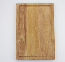 Large Rubber Wood cutting/chopping board with groove