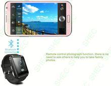 Smart Watch promotional flip top digital watch with mirror