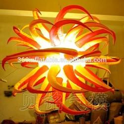 Custom new design inflatable handing lighting tentacle balloon(BMLD324)