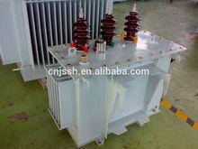 toroidal copper winding 11kv 1600kva oil transformer