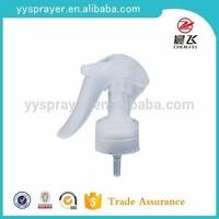 white mini plastic trigger sprayer 24/410 28/410 for clean