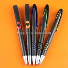 Black two-tone promotional plastic ball pens