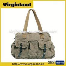 0503 Good Quality 2015 New Design Vintage Canvas Handbag Shoulder Bag