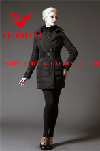 cotton/polyester top jackets feather