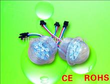 35mm diameter,pixel module;UCS2903IC;DC12V;9pcs 5050 led;IP67 waterproof;transparent cover