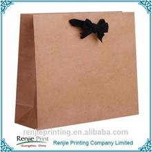 Cheap Mass Production Brown Paper Bag