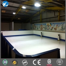 Indoor and outdoor synthetic ice rink panel / ice rink hockey fence