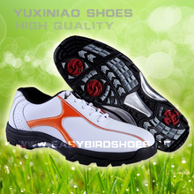 wholesale high top golf shoes for Ladies and Gentleman business sport with skid resistance spike