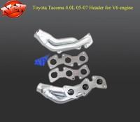 FOR 05-07 TOYOTA TACOMA -09 FJ CRUISER 4.0L V6 engine CERAMIC COATED EXHAUST MANIFOLD HEADER+GASKET(Fits: TOYOTA TACOMA)