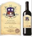 2015 novos produtos personalizados etiqueta rótulo de vinho