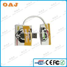 Best quality professional bag shape bulk flash drive usb