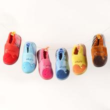 Xz-0090 atacado moda infantil inverno criança roupas miúdos dos desenhos animados coreano crianças assimétricas sapatos de algodão