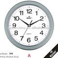 11 pouces. de bureau décoratif horloge murale avec le logo d'impression