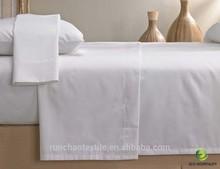 Luxury Five Star Hotel 80% Cotton 20% Polyester Hotel Bedsheet