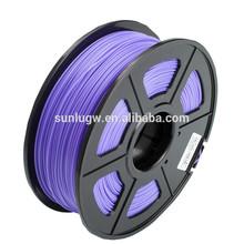 Factory supply! Rohs certified 1.75mm / 3.0mm 3D printer filament pla