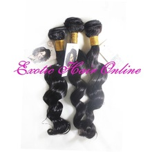 Brand new loose curl virgin hair various texture