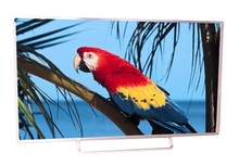 60 inch wide and flat screen sliver and low price led smart tv