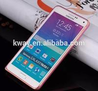 Ultra Thin Slim Metal Aluminum Hard Chrome Bumper Case Cover Frame For Samsung Galaxy S5 S6 S4 Note 2 3 4 Aluminum Bumper Case