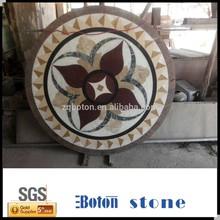 Natural Stone Waterjet Medallion,Water Jet Marble Designs
