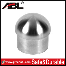 ABlinox stainless railing fittings/end cap/firm in structure
