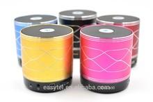 mini Wireless+TF+handsfree+FM bluetooth speaker, alluminum shield speaker