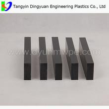 wear resistant uhmw pe black hard plastic sheet / bulk plastic sheets
