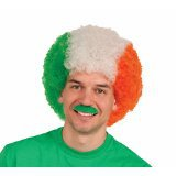 St. Patrick's Day 100th new arrival wig football fan decorative hair scrunchies