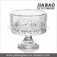 3.11'' engraved glass ice cream sundae bowls GB1043WYC