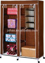 non-woven fabric wardrobe Morden bedroom fabric wardrobe designs roller fabric wardrobe with wheels