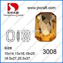 Canton Fair fashion lead free decorative diamond crystal glass beads
