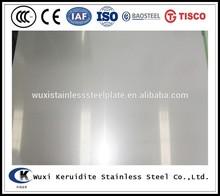 china inox 316 stainless steel plate 2b finish food grade