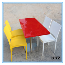 acrylic stone coffee dining tables and chairs for wholesale