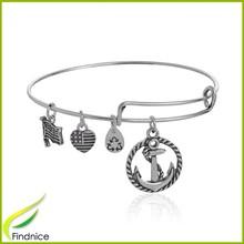 Anchor Bracelet Hot Wholesale Expandable Bangle