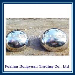 65mm stainless steel hemisphere 1mm thickness