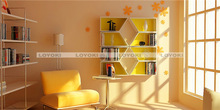 China manufacturer wooden Cube Shelf light shelf