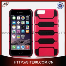 Wholesale cell phone case manufacture combo case for iphone 6, mobile phone cover for iphone 6 case